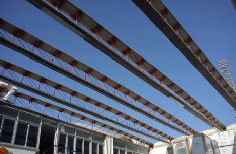 Fase di lavorazione : Ricostruzione del tetto